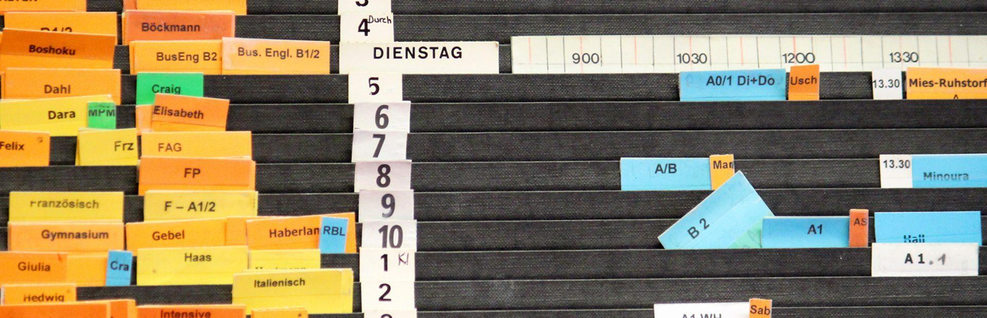 DESK Sprachkurse, Kurstermine, Deutschkurse, Englischkurse