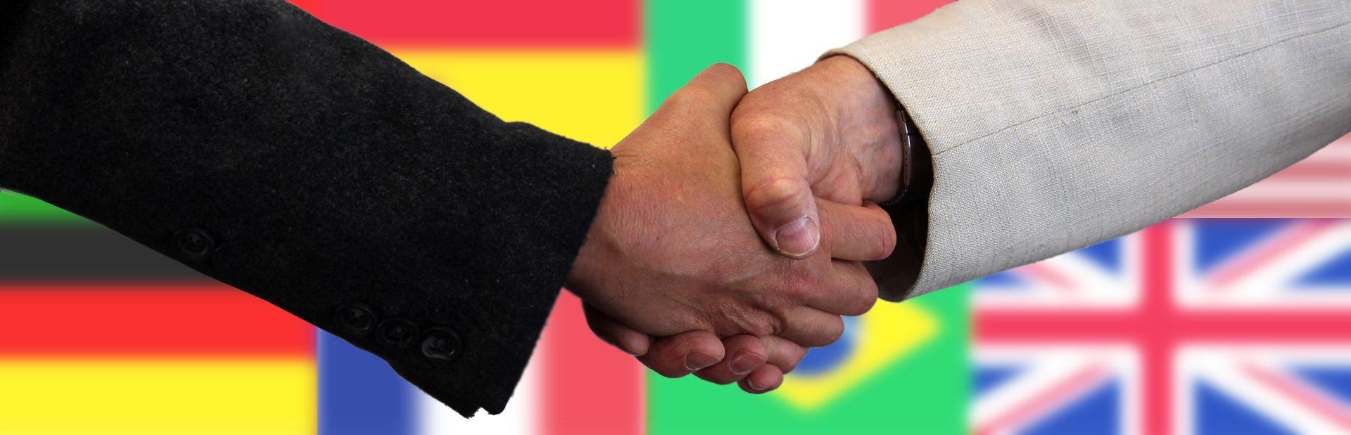 DESK Sprachkurse in München und Herrsching, Philosophie, Handshake